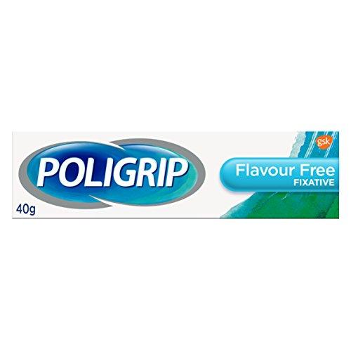 Poli-grip - pasta fissativa per dentiere, ultra-resistente & neutra (nessun aroma), 40 g