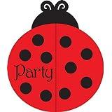 Creative convertir Coccinelle Fancy Invitations pour fête 25 graines, pour enfant, jouet