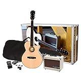 Epiphone PPGR-EEP4NACH1-EU PR-4E Pack de Guitare acoustique 240 V