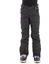 Brunotti Pantalones de esquí invierno snowboard Pantalones Pantalones Lido Negro Resistente Al Agua Caliente, color negro, tamaño 12 años (152 cm)