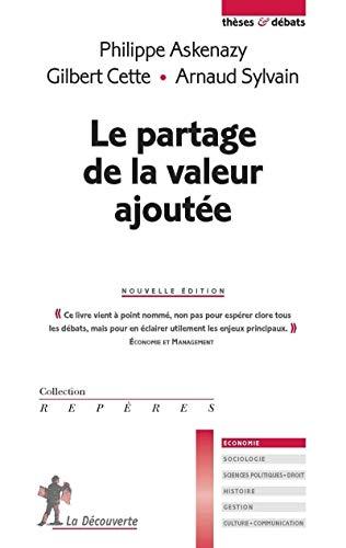 Le partage de la valeur ajoutée par Philippe Askenazy