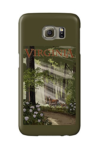 virginia-deer-family-galaxy-s6-cell-phone-case-slim-barely-there