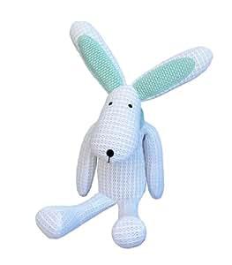 Safe Dreams Safebreathe Hoppy Soft Toy for Newborn (White)