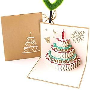 Tarjeta de Cumpleaños 3D Paper