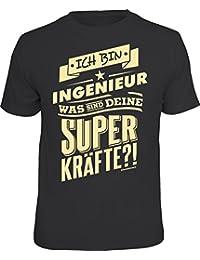 Original RAHMENLOS® T-Shirt: ich bin Ingenieur - was sind deine Superkräfte?