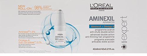 L'Oréal Paris, Trattamento anticaduta capelli Aminexil Advanced, 42 x 6 ml