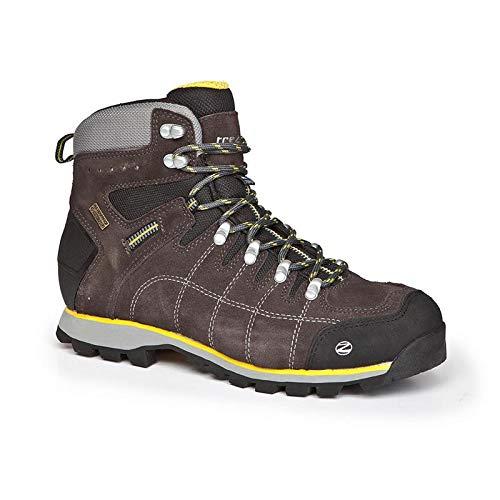 c4ba4a32f1e Trezeta, Chaussures basses pour Homme - Marron - Brown/Yellow, 44 EU