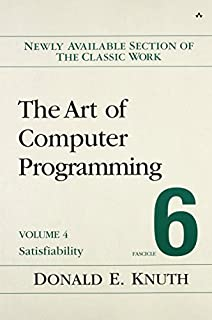 The Art of Computer Programming, Volume 4B, Fascicle 6: Satisfiability (0134397606) | Amazon price tracker / tracking, Amazon price history charts, Amazon price watches, Amazon price drop alerts