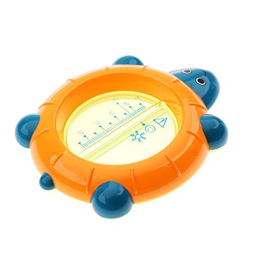 F Fityle Badewannen-Thermometer Baby Kinder Bade-Wasser Temperatur Schildkröte