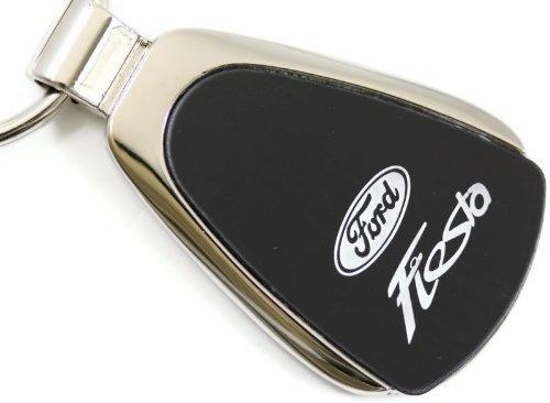 "dantegts Ford Fiesta Negro lágrima llavero Authentic Logo Llavero Llavero Lanyard 2,75L x 1""W"