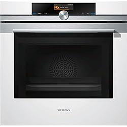Siemens HM676G0W1 - Horno (67L, Eléctrico, 67L, Incorporado, Color blanco, Giratorio, Tocar)