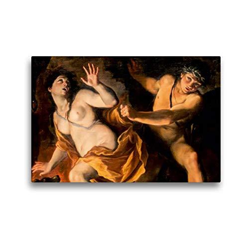 Calvendo Premium Textil-Leinwand 45 cm x 30 cm Quer, Ein Motiv aus Dem Kalender Ovids Metamorphosen - Bücher der Verwandlungen | Wandbild, Bild auf Keilrahmen. (Giovanni Antonio Burrini) Kunst Kunst