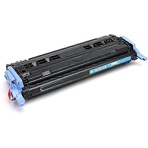 PerfectPrint - Compatible Q6001A Cyan Impresora Toner Cartridge Fo HP Laserjet 1600 2600 2600N 2605 605DN 2605DTN MFP CM1015
