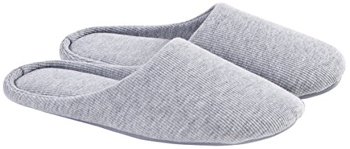 Ofoot Women's Cotton Memory Foam Washable Anti-Slip Indoor Slippers