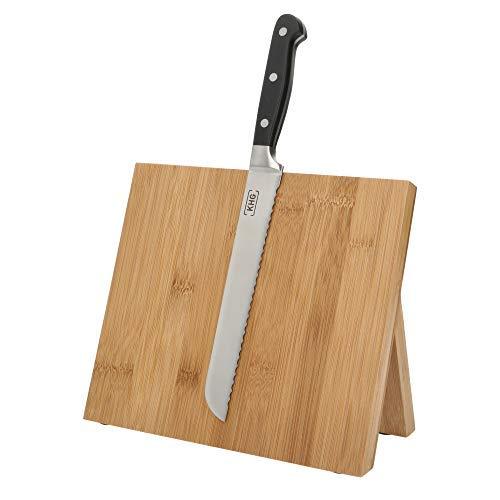 Magnetisches Messerbrett aus Bambus Universal-Block Messerhalter KHG