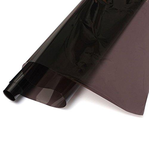 Preisvergleich Produktbild Auto Glas Folie - TOOGOO (R) Breite 50cm * 3M Autoglasdurchlaessigkeit von 35% Isolierung Explosionsgeschuetzte Membran Schwarz