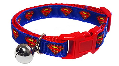 Spoilt Rotten Pets Designer Cat Collar With Bell & Safety Buckle (Super Cat)