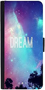 Snoogg Dream Universedesigner Protective Flip Case Cover For Sony Xperia Z4