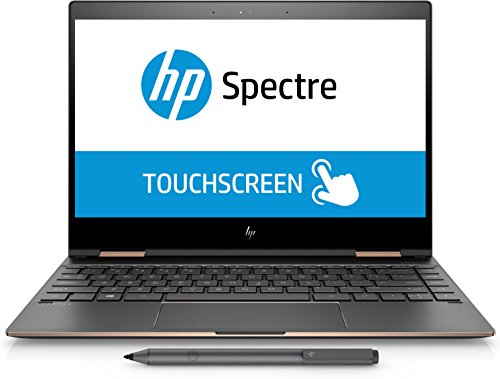 "HP Spectre x360-13 Touch Laptop i7-8550U Quad Core 16GB DDR4 RAM,512GB SSD 13.3"" Ips FHD Touch, Gorilla Glass, Win 10 Pro"