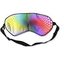 Rotation Multi Colored Lines Shape 99% Eyeshade Blinders Sleeping Eye Patch Eye Mask Blindfold for Travel Insomnia... preisvergleich bei billige-tabletten.eu