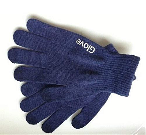 guanti da portiere puma buffon NUTL guantiModa Touchscreen Guanti Cellulare Cellulare Guanti Guida Schermo Glove Regalo Per Gli Uomini Donne Inverno Blu scuro