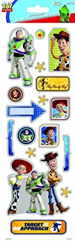 Sandylion Toy Story Chipboard Foil Stickers by