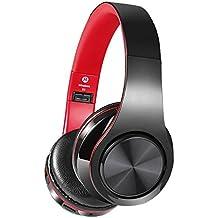 Aokey Auriculares Bluetooth Inalámbricos Profesionales V4.2 con Micrófono,Compatible con todos los Smartphones