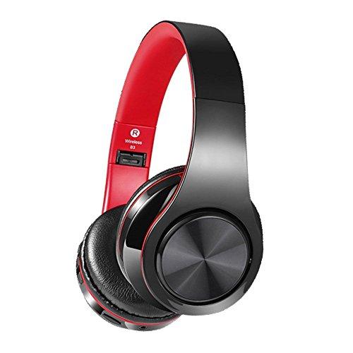 Bluetooth Kopfhörer,AokeyV4.2 Professionel Kabellos Faltbarer Über-Ohr Hi-Fi Stereokopfhörer mit Noise Cancelling Unterstützt alles Smartphone/Fernsehapparat/Laptop/Micro SD TF Karte/Spiele/PUBG/LOL