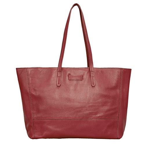 3936d7d727 Liebeskind Berlin Essential Shopper Large - Borse a spalla Donna, Rosso (Italian  Red)