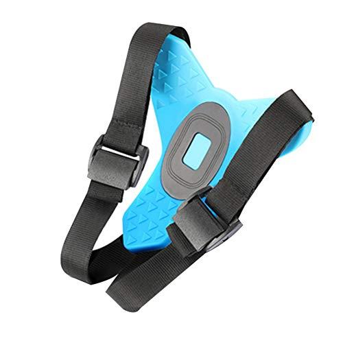 Casco Moto Adattatore per Attacco Mento Casco Anteriore Supporto Fisso Supporto per GoPro Hero 7 5 Accessori per Action Cam Nero + Blu