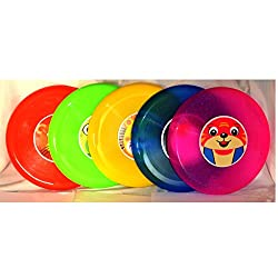 Sunny Colorful Frisbee set of 5