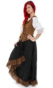Maylynn 12234 - Mittelalter Kostüm Magd Schankmaid Bäuerin Nea, 3-teilig, Größe S-M