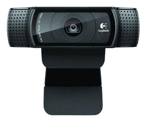 Price comparison product image Logitech HD PRO Webcam C920 Webcam,  PC / Mac