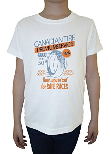 canadian-tire-weiss-baumwolle-jungen-kinder-t-shirt-rundhals-kurzarm-white-boys-kids-t-shirt