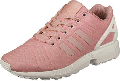 adidas Damen Zx Flux W Fitnessschuhe, Rosa (Rostra/Rostra/Casbla), 43 1/3 EU