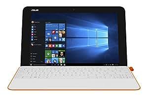 "Asus [Ancien Modèle] Transformer Mini PC portable 2-en-1 Tactile 10.1"" Orange (Intel Atom, 4 Go de RAM, SSD 128 Go, Windows 10)"