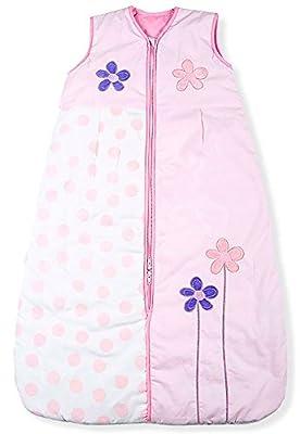 Sacos de Dormir para Bebé, Flores Lindas, Kiddy Kaboosh Varios Tamaños, Ligero, 0.5 Tog