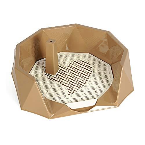 Hundetoilette, Defäkationsurinal-Haustierzug-Töpfchen-Flush-Reinigungs-Versorgungsmaterialien Praktisch Für Zu Hause Für Kleine Und Mittlere Hunde Hundetoilette -