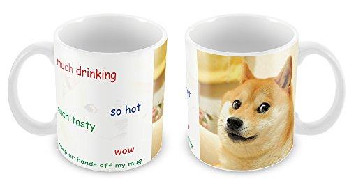 Shiba Hund Tasse, Meme, Reddit, Geschenk-Idee, Nerd, Geek, Weihnachten, Tierfreunde (Nerd Ideen)