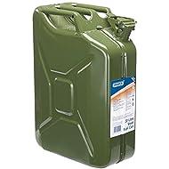 Draper 54442 20l steel fuel can (green)