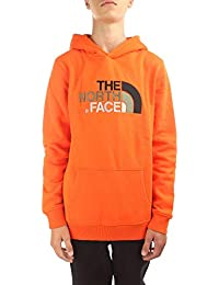 The North Face Y Drew Peak Po Hdy Persian Orange S (Kids)
