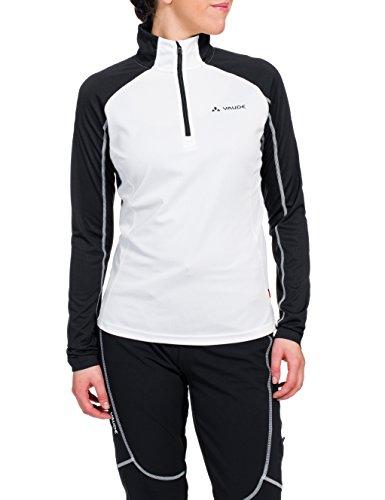 Vaude La Luette Sweat-shirt Femme Blanc/noir