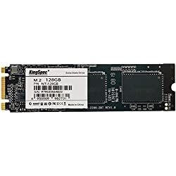 KingSpec Disque Dur SSD Interne M.2 (2280) SATA III 6 GB/s 3D NAND NGFF pour Ultrabook 128 Go ...