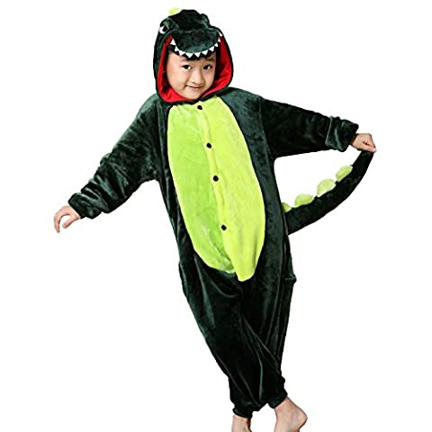 Costumes Minion Enfants Halloween - WSLCN Pyjama Animal Enfant Unisexe Onesie Cosplay