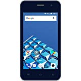Konrow Smartphone débloqué 4G (Ecran : 4 Pouces - 8 Go - Double Micro-SIM - Android) Bleu