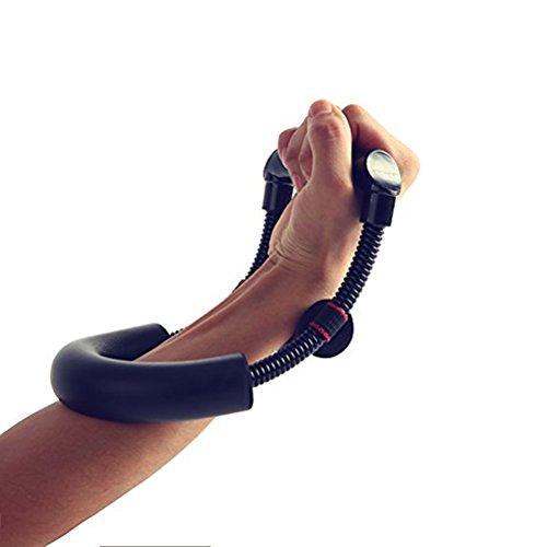 WINOMO Herramienta de muñeca y antebrazo fuerza Flexor resistencia ejercitador mano garra equipo exercizer del entrenamiento