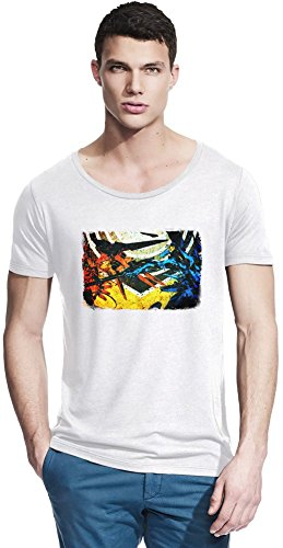 Zone Of The Enders HD Collection Colorful Bambus Wide Neck T-Shirt X-Large (Zone Enders 360)