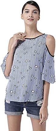Styleville.in Women's Striped Regular fit S
