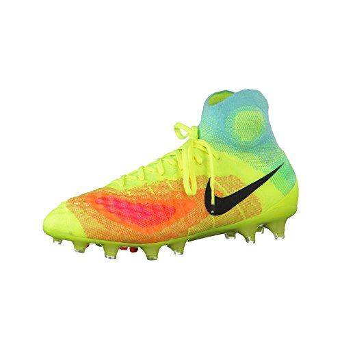 Nike Magista Obra Ii Fg, Chaussures de Football Homme Gris