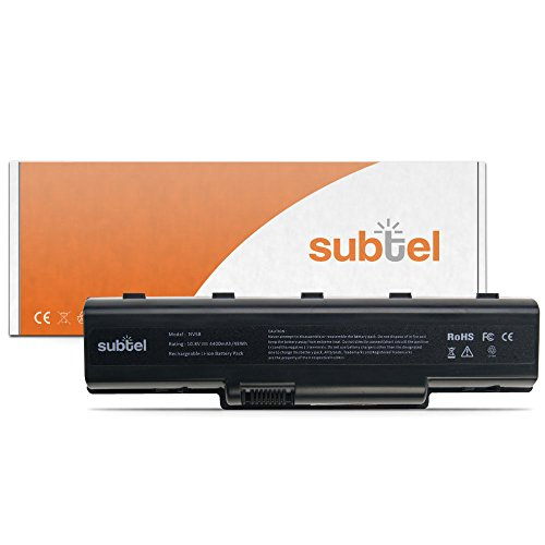 subtel® Qualitäts Akku für Packard Bell EasyNote TJ65 TJ75 TJ71 TJ61 78 77 76 74 73 72 68 67 64 62 TJ66 TH36 TR87 85 83 81 und weitere (4400mAh) - AS09A-31 / -41 / -56 / -61 / -70 / -71 / -73 / -75 / -90